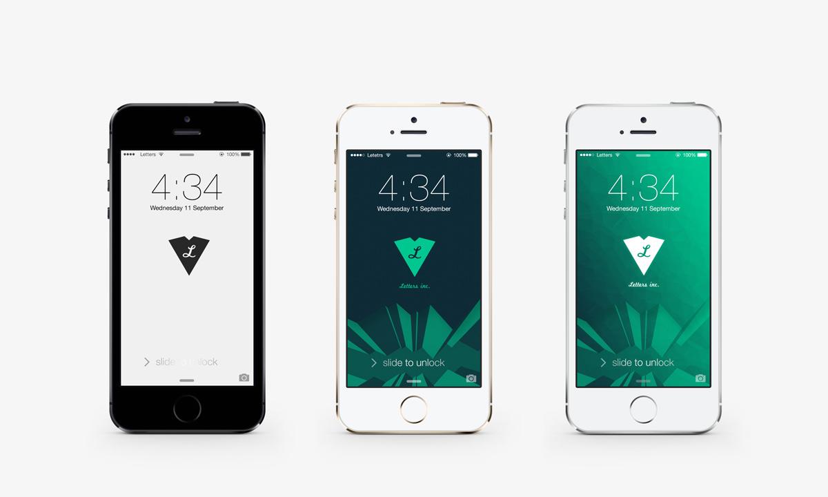 3パターン Iphone5 Iphone5s用壁紙作ってみた Ios7対応 3